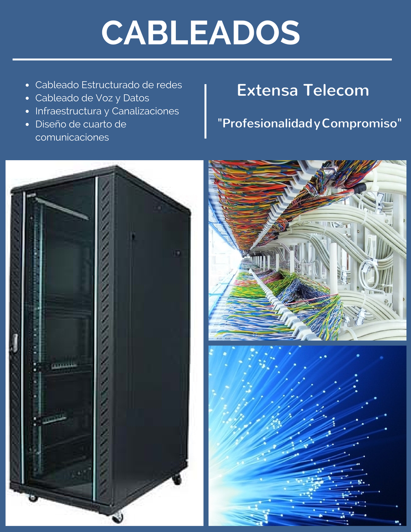 Cableados - Extensa Telecom